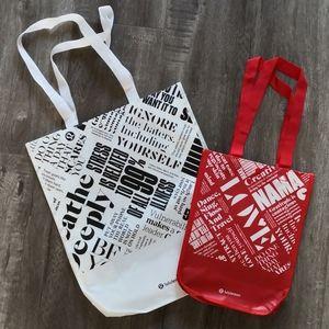 Brand new authentic Lululemon reusable bag